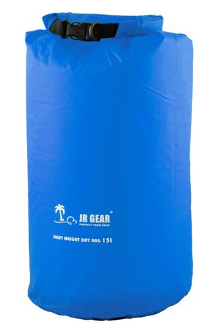 JR Gear Σάκος στεγανός 15L Light Weight Μπλε (12685) paixnidia hobby diving ajesoyar