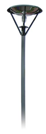 Unigreen Ηλιακό Φωτιστικό Εξωτερικού Χώρου POLYCRISTALINE (20626)