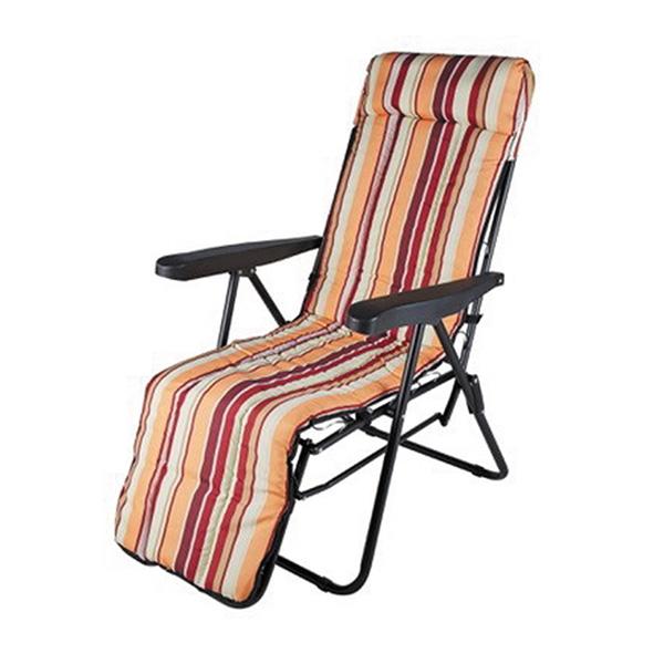 Unigreen Πολυθρόνα Ανακλινόμενη Textilene Μπεζ (19362)