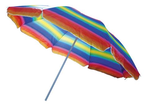 Ομπρέλα Παραλίας Nylon OEM 18307 Ø180cm khpos outdoor camping epoxiaka camping ompreles ualasshs