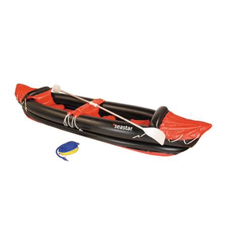 Φουσκωτό Kayak Seastar 15621 1 Ενήλικας + 1 Παιδί khpos outdoor camping ualassia spor kanokagiak