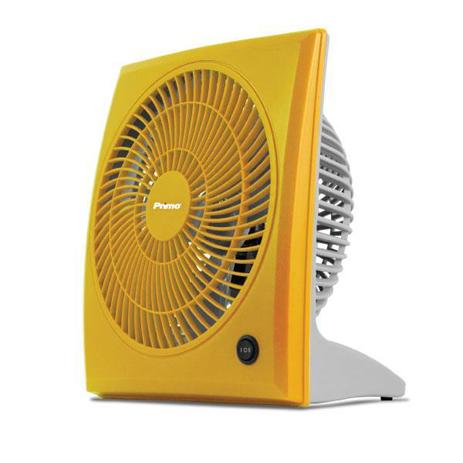 Επιτραπέζιος Ανεμιστήρας Box Fan 23εκ. Primo 15729 Κίτρινος