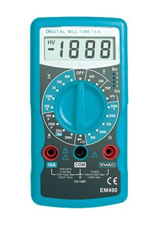 OEM Πολύμετρο Ε-Sun EM-490 hlektrikes syskeyes texnologia oikiakes syskeyes ajesoyar