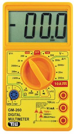 OEM Πολύμετρο GM-260 hlektrikes syskeyes texnologia oikiakes syskeyes ajesoyar