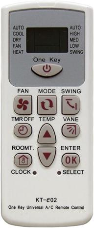 OEM Τηλεχειριστήριο Air-Condition KT-e02