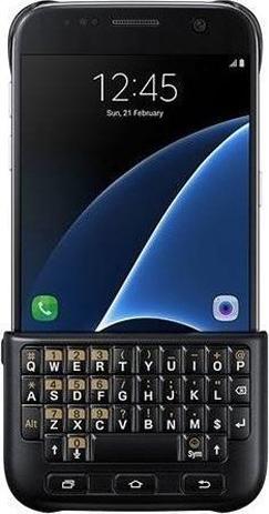 Θήκη Πληκτρολόγιο Samsung Original Galaxy S7, Black (EJ-CG930UBE) hlektrikes syskeyes texnologia kinhth thlefonia ajesoyar