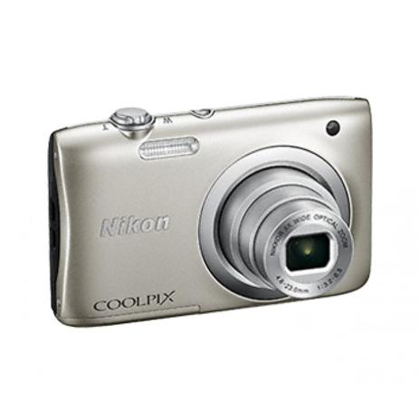 Φωτογραφική Μηχανή Nikon Coolpix A100 Silver & Θήκη paixnidia hobby fotografikes mhxanes compact