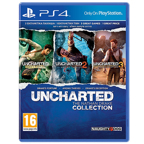 Uncharted Nathan Drake Collection - PS4 Game gaming games paixnidia ps4