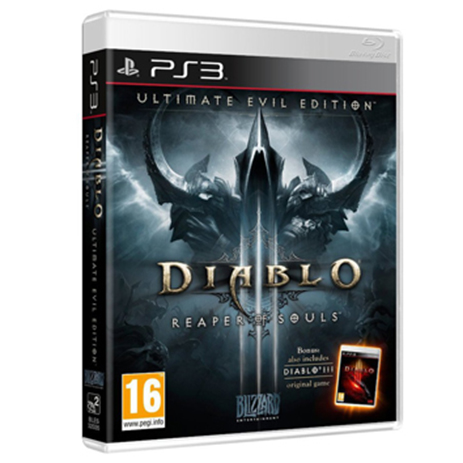 Diablo III Ultimate Evil Edition - PS3 Game gaming games paixnidia ps3