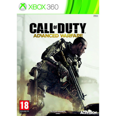 Call Of Duty Advanced Warfare - XBox 360 Game gaming games paixnidia xbox 360