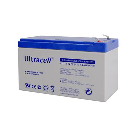 Μπαταρία Μολύβδου Ultracell 12V 7.2AH F2 hlektrikes syskeyes texnologia hlektrologikos ejoplismos mpataries