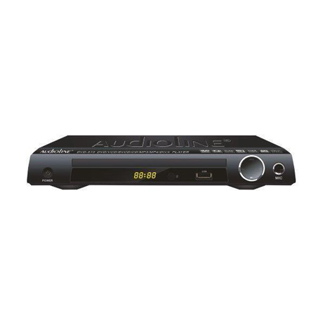 DVD Player 2.1 Mini Size Audioline 519 hlektrikes syskeyes texnologia eikona hxos dvd player