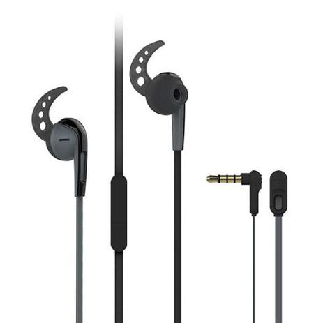 Ακουστικά Sport με Μικρόφωνο 3.5mm Vivanco SPX 40 37301 Μαύρα hlektrikes syskeyes texnologia perifereiaka ypologiston akoystika