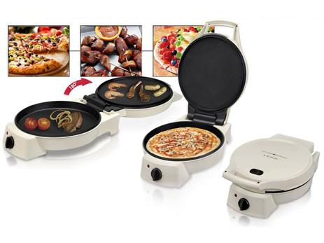 Pizza Pan Grill Kalorik TKG PZP 1002 Kto (1800w) spiti mageirika skeyh pizza wok fondue