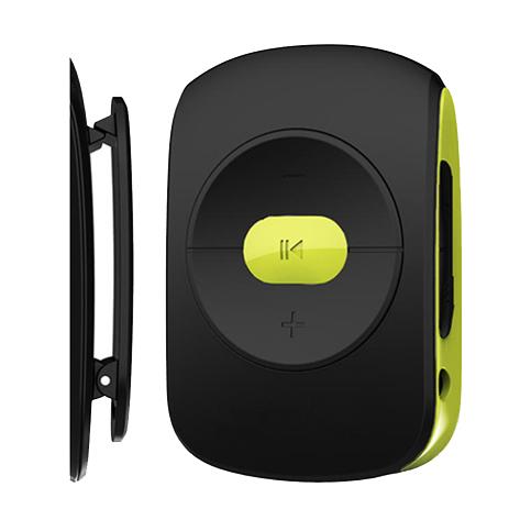 MP3 Player Osio SRM-7640BG Μαύρο/Πράσινο hlektrikes syskeyes texnologia eikona hxos mp3mp4 player