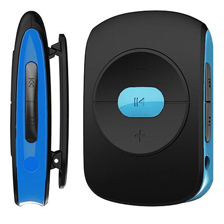 MP3 Player Osio SRM-7640BB Μαύρο/Μπλε hlektrikes syskeyes texnologia eikona hxos mp3mp4 player