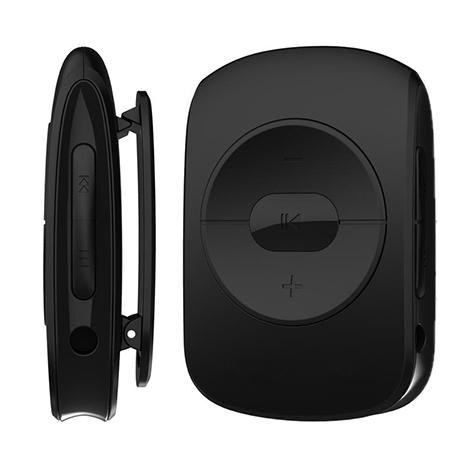 MP3 Player Osio SRM-7640BL Μαύρο hlektrikes syskeyes texnologia eikona hxos mp3mp4 player