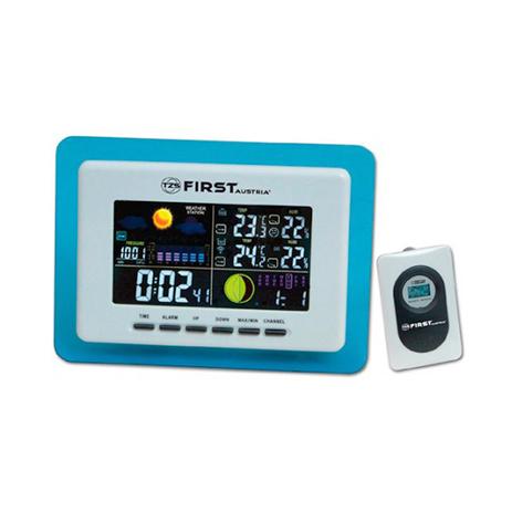 Ασύρματος Μετεωρολογικός Σταθμός με Ξυπνητήρι First FA-2461-1 paixnidia hobby gadgets meteorologikoi staumoi