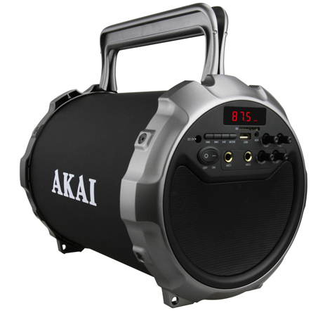 Φορητό Ηχείο Bluetooth Akai ABTS-28 hlektrikes syskeyes texnologia eikona hxos hxeia