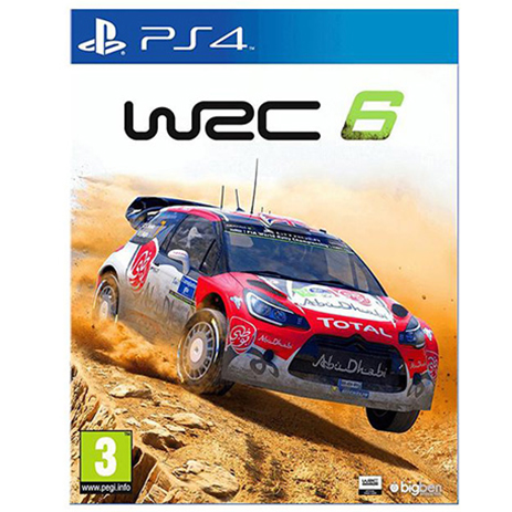 WRC 6 - PS4 Game gaming games paixnidia ps4