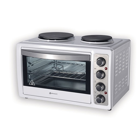 Κουζινάκι με Εστίες Rohnson R-2128 Λευκό hlektrikes syskeyes texnologia oikiakes syskeyes foyrnoi esties