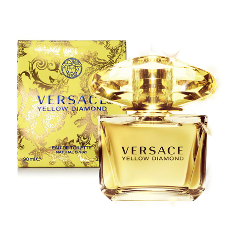 Versace Yellow Diamond Eau de Toilette 90ml fashion365 aromata gynaikeia aromata