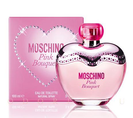 Moschino Pink Bouquet Eau de Toilette 100ml fashion365 aromata gynaikeia aromata