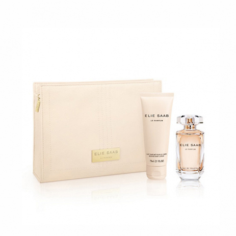 Elie Saab Le Parfum Gift Set Eau de Toilette 50ml & Body Lotion 75ml & & Beauty  fashion365 aromata gynaikeia aromata