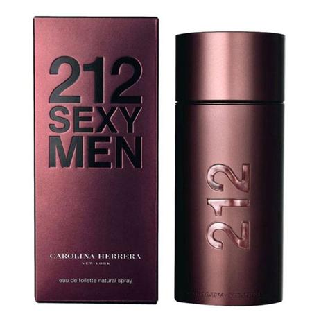 Carolina Herrera 212 SEXY MEN Eau de Toilette 100ml fashion365 aromata andrika aromata