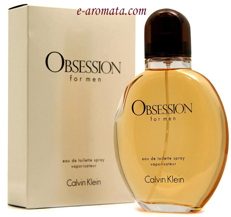 Calvin Klein Obsession For Men Eau de Toilette 125ml fashion365 aromata andrika aromata
