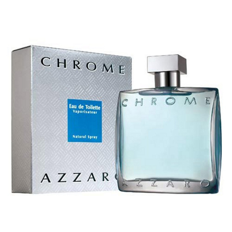 Azzaro Chrome Eau de Toilette 100ml fashion365 aromata andrika aromata