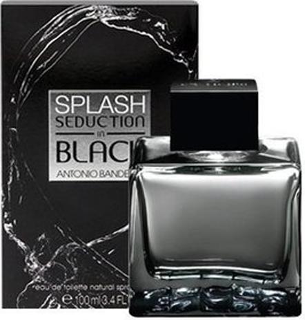 Antonio Banderas Splash Seduction In Black Eau de Toilette 100ml fashion365 aromata andrika aromata