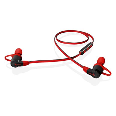 Bluetooth Ακουστικά i.Tech Musicband B6300 Red Black hlektrikes syskeyes texnologia kinhth thlefonia bluetooth