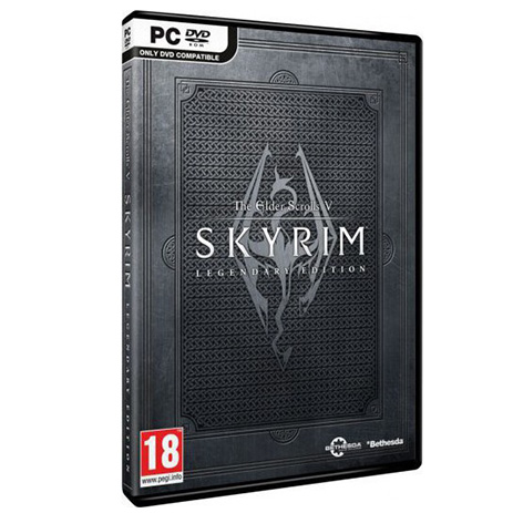 The Elder Scrolls V: Skyrim Legendary Edition - PC Game gaming games paixnidia pc