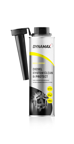 Καθαριστικό-Προστατευτικό Diesel Dynamax System Clean & Protect 300ml aytokinhto mhxanh frontida aytokinhtoy xhmika beltioshs