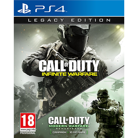 Call Of Duty Infinite Warfare Legacy - PS4 Game gaming games paixnidia ps4