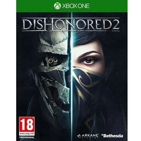Dishonored 2 - XBox One Game gaming games paixnidia xbox one