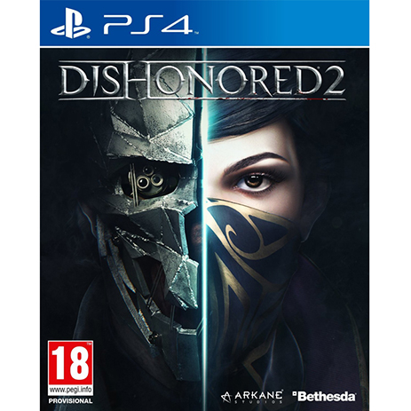 Dishonored 2 - PS4 Game gaming games paixnidia ps4