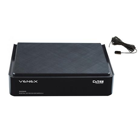 Επίγειος Ψηφιακός Δέκτης DVB-Τ Venex 2020HD Επίγειος Ψηφιακός Δέκτης DVB-Τ Venex 2020HD Χαρακτηριστικά:Eίσοδος Scart - USB - HDMI PVR Λειτουργία Εγγραφής Αναπαραγωγή Προγραμμάτων σε USB Λειτουργία Timeshift Αναπαραγωγή multimedia αρxείων της US