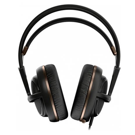 Steelseries Headset Siberia 200 Alchemy Gold gaming perifereiaka gaming pc akoystika