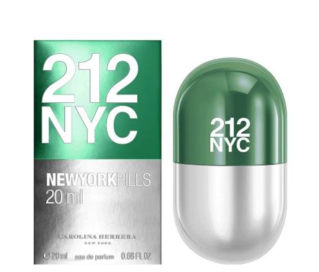 Carolina Herrera 212 NYC Pills Eau De Parfum 20ml fashion365 aromata gynaikeia aromata