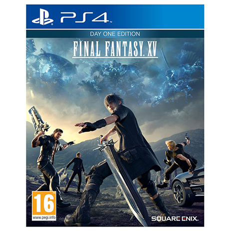Final Fantasy XV D1 Edition - PS4 Game gaming games paixnidia ps4