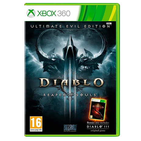 Diablo III Ultimate Evil Edition - XBox 360 Game gaming games paixnidia xbox 360