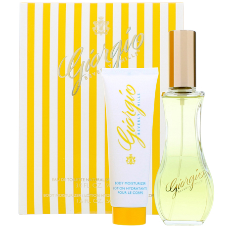 Giorgio Beverly Hills Yellow Eau de Toilette 90ml & Body Lotion 50m Gift Set fashion365 aromata set doron
