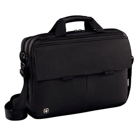 Τσάντα Laptop Wenger Route 601060 Μαύρη paixnidia hobby eidh tajidioy tsantes uhkes