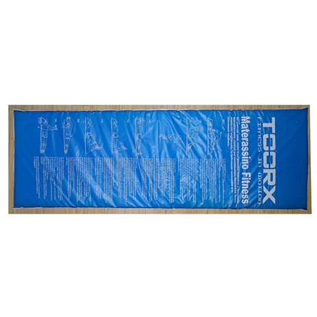 Στρώμα Γυμναστικής 180x60x2.5cm Toorx Mat-GE Μπλε (10-432-028) paixnidia hobby organa gymnastikhs mikroorgana proponhshs