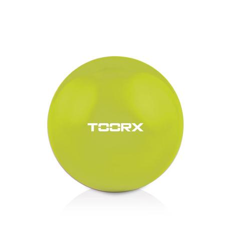 Μπάλα Ενδυνάμωσης Toning Ball 1kg Toorx AHF-065 Lime Green paixnidia hobby organa gymnastikhs mikroorgana proponhshs