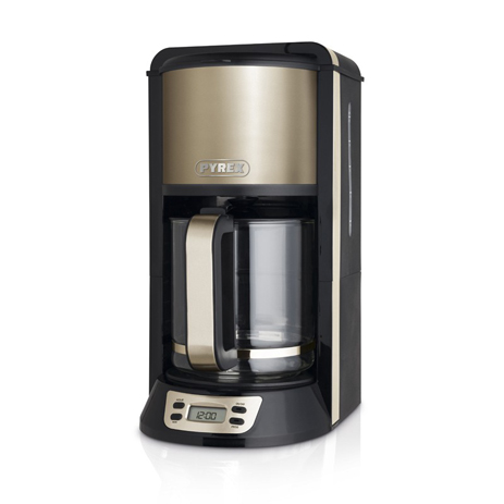 Καφετιέρα Pyrex Gold με Τimer SB-301