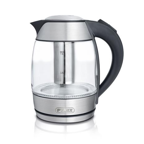 Βραστήρας 1.8lt με Αξεσουάρ για Τσάι Pyrex Luxx SB-450 hlektrikes syskeyes texnologia oikiakes syskeyes brasthres