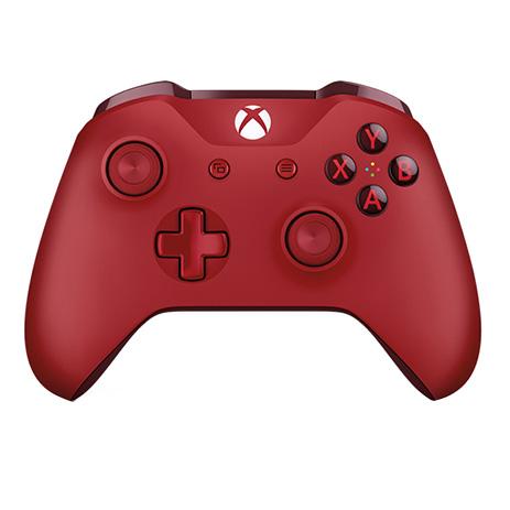 Χειριστήριο Ασύρματο Microsoft Red Wireless WL3-00028 - Xbox One Controller gaming perifereiaka gaming xbox one xeiristhria